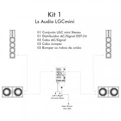 KIT 1 - LS Audio LGCmini