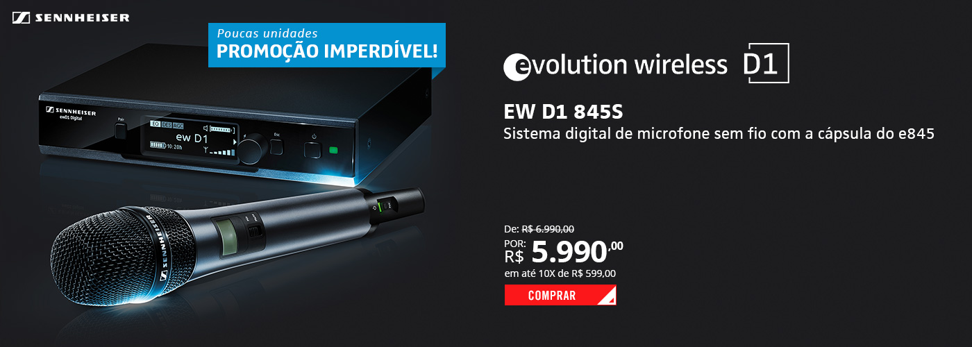 Sennheiser EW D1 E845