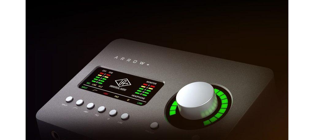 Universal Audio Interface de áudio - Arrow » Quanta Brasil
